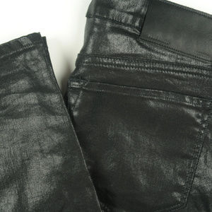 AllSaints Ashby Skinny Low Rise Coated Jeans 28x30